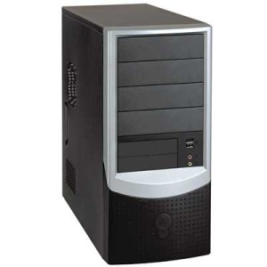 A typical Tower computer case