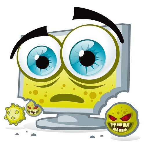 picture of a computer virus