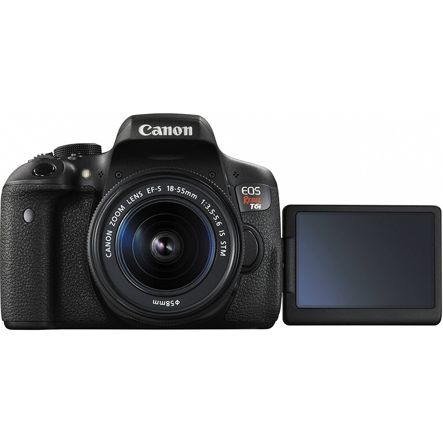 Canon 750D LCD