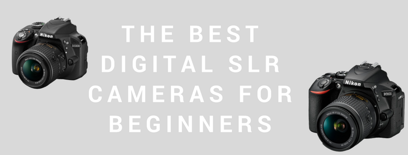 The Best Digital SLR Cameras For Beginners Banner