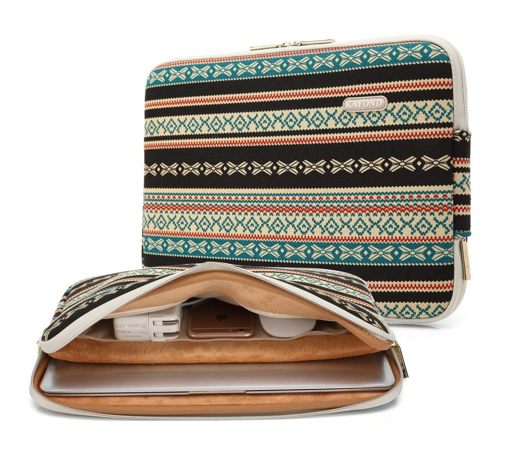 Kayond Canvas Water-Resistant 13 inch Laptop Sleeve